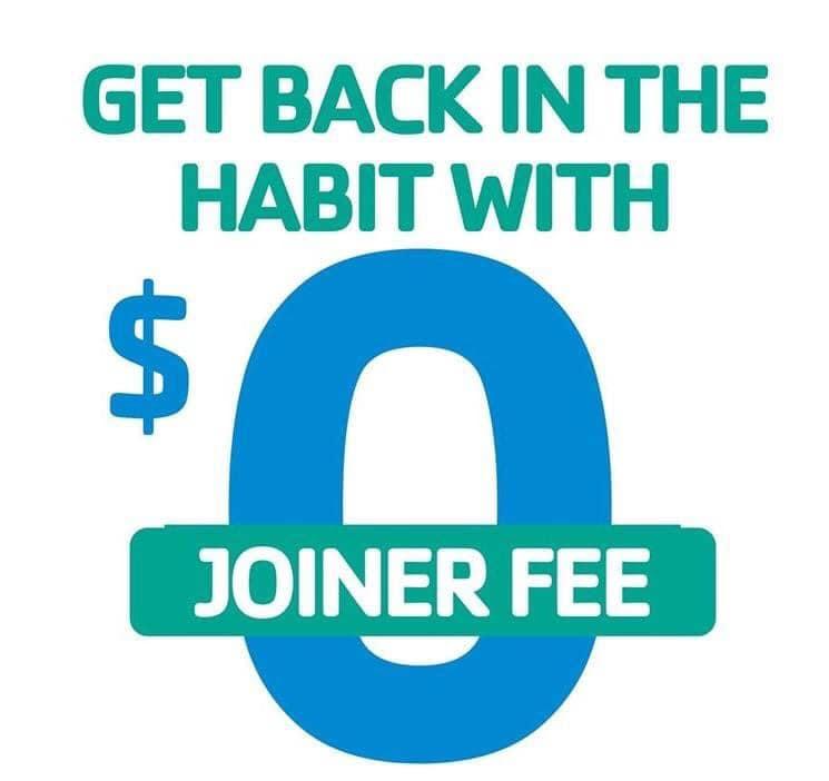 No Joiner's Fee in September